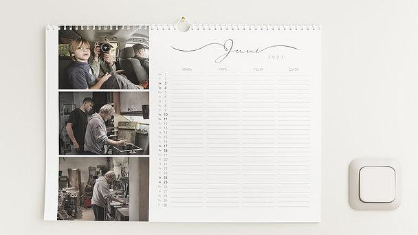 Fotokalender - Zusammen durchs Jahr Familienplaner