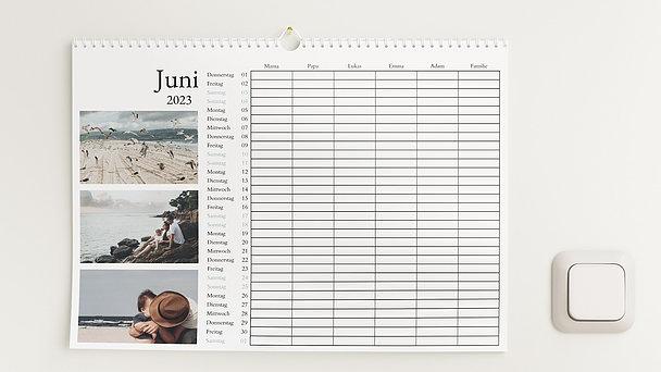 Fotokalender - Erfüllendes Jahr Familienkalender