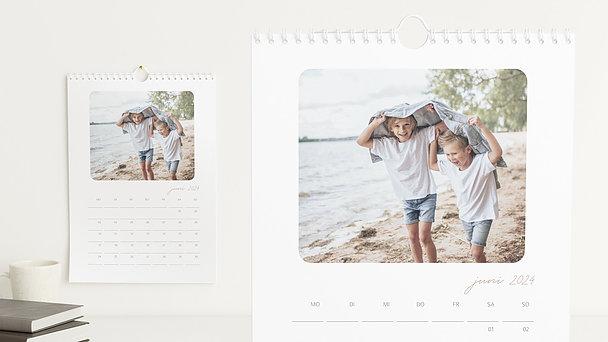 Fotokalender - Notizblatt