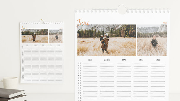 Fotokalender - Phänomenales Jahr Familienplaner