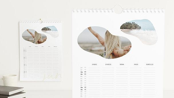 Fotokalender - Organic Year Familienkalender