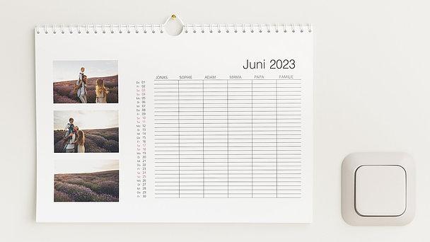 Fotokalender - Klassisch Familienplaner