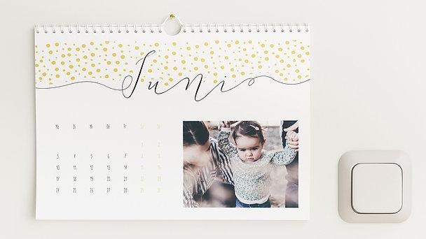 Fotokalender - Klaviatur