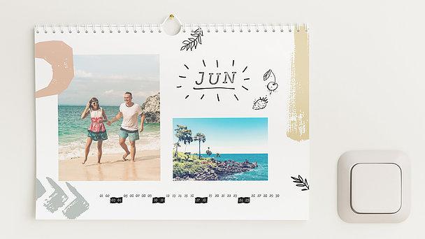 Fotokalender - Bunt durchs Jahr