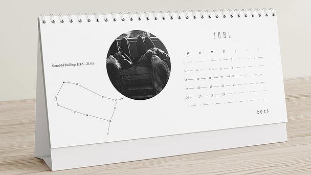 Fotokalender - Star sign Tischkalender