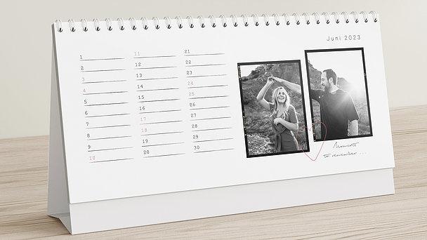 Fotokalender - Days to remember Tischkalender