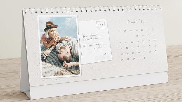 Fotokalender - Postcard for you Tischkalender