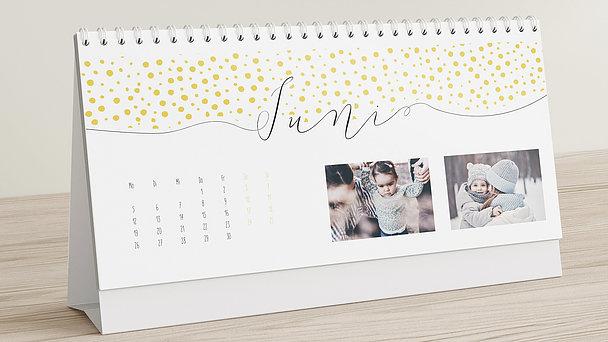 Fotokalender - Klaviatur Tischkalender