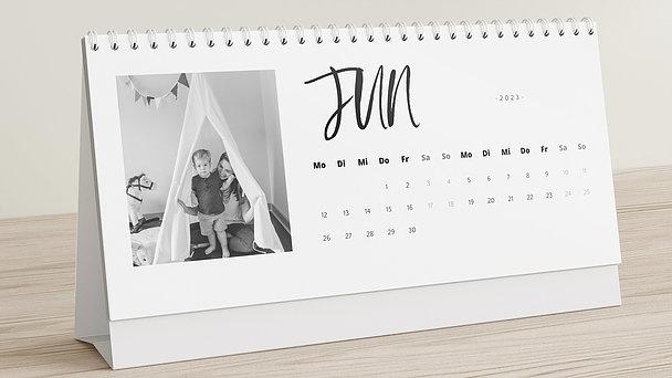 Fotokalender - Bewegtes Jahr Tischkalender