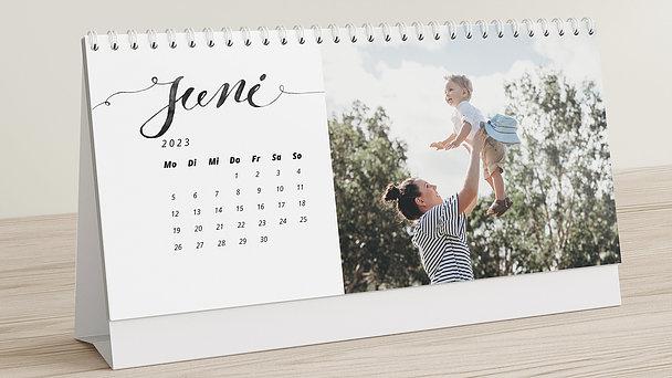 Fotokalender - Bestes Jahr Tischkalender