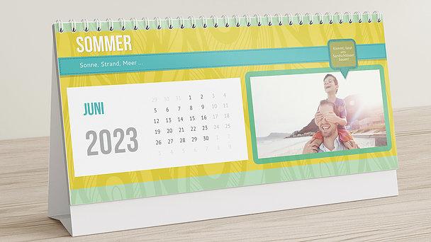 Fotokalender - Buntes Jahr Tischkalender