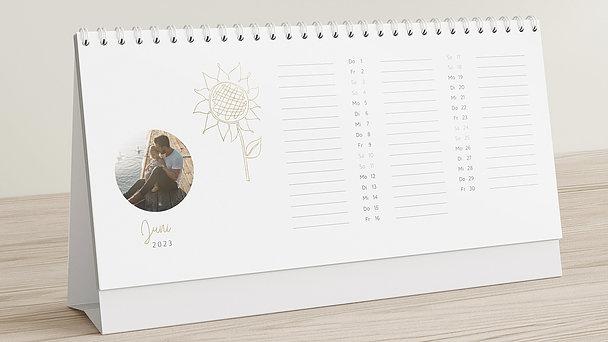 Fotokalender - Saisonale Freuden Tischkalender