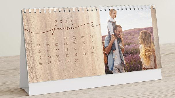 Fotokalender - Jahresringe Tischkalender