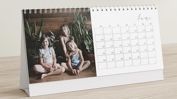 Fotokalender - Glück im Blick Tischkalender
