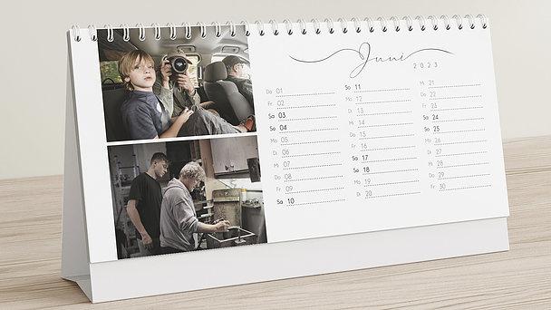 Fotokalender - Zusammen durchs Jahr Tischkalender