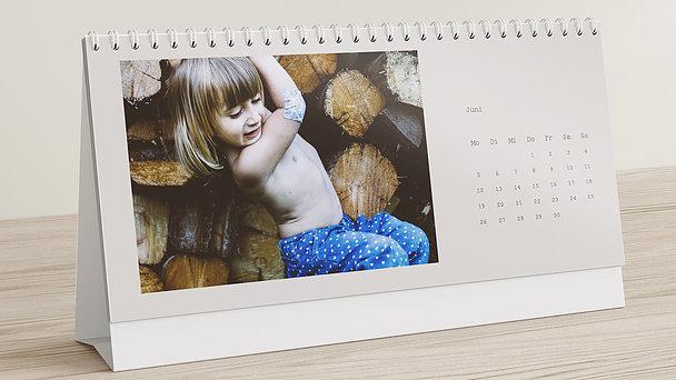 Fotokalender - Jahrgänger Tischkalender