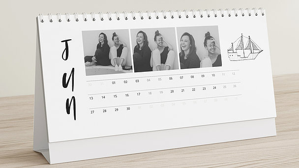 Fotokalender - Liebesreise Tischkalender