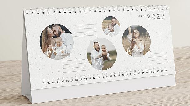 Fotokalender - Pralle Freude Tischkalender