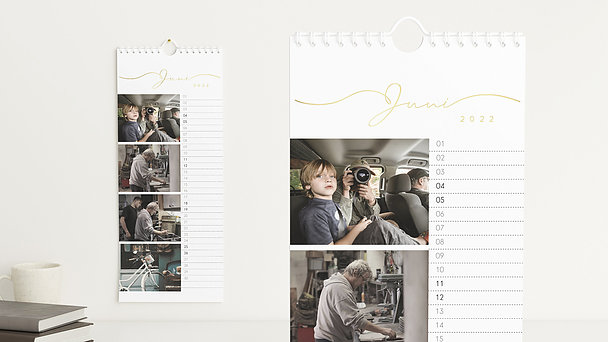 Fotokalender - Zusammen durchs Jahr