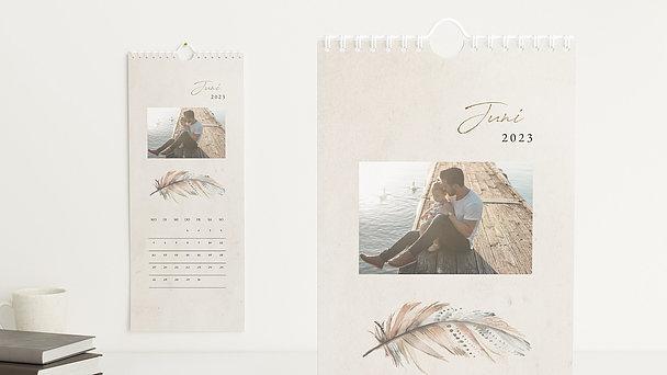 Fotokalender - Federleichtes Jahr