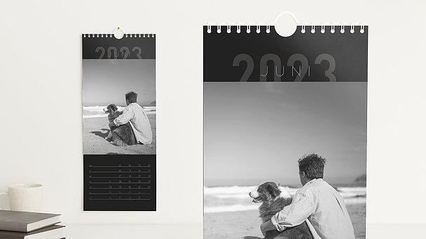 Fotokalender - 12 elegante Monate