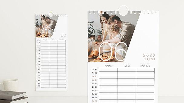 Fotokalender - Quer durchs Jahr Familienkalender