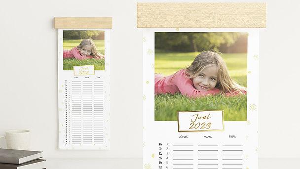 Fotokalender - Jahreswandel Familienplaner