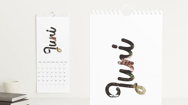 Fotokalender - Monatsglück
