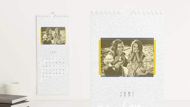 Fotokalender - Jahresauftakt Wandkalender