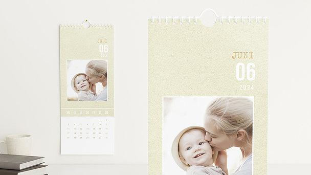 Fotokalender - Zarte Sprenkel