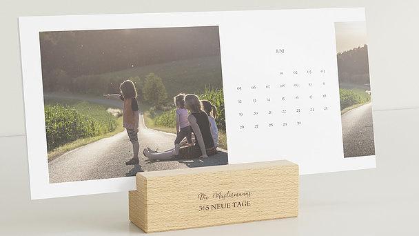 Fotokalender - Jahresrauschen Tischkalender