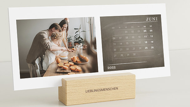 Fotokalender - Jahresbegleiter Tischkalender