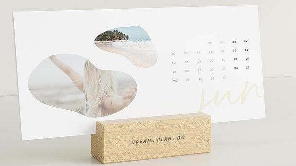 Fotokalender - Organic Year Tischkalender