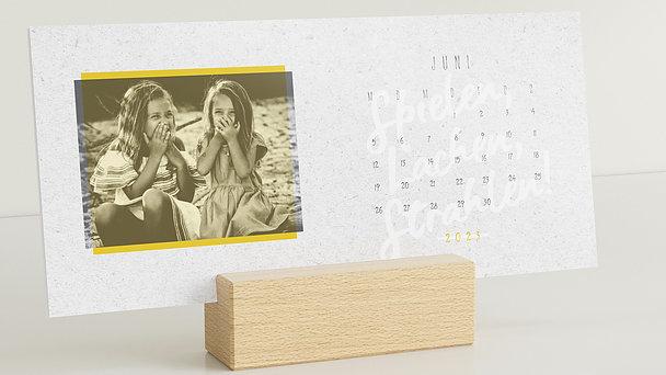 Fotokalender - Jahresauftakt Tischkalender