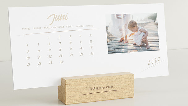 Fotokalender - Unvergessliches Jahr Tischkalender