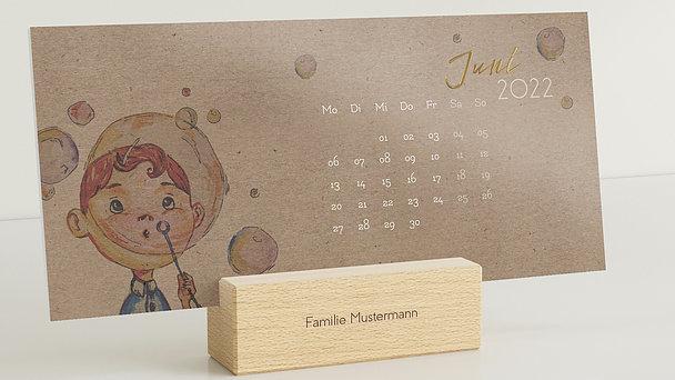 Fotokalender - Fröhlich bunt Tischkalender