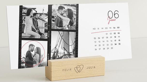 Fotokalender - Streets of love Tischkalender