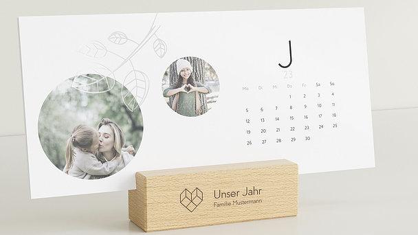 Fotokalender - Leichtes Jahr Tischkalender
