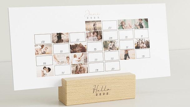Fotokalender - Happy pics Tischkalender