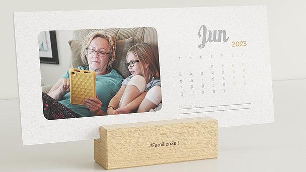 Fotokalender - Jahr im Blick Tischkalender