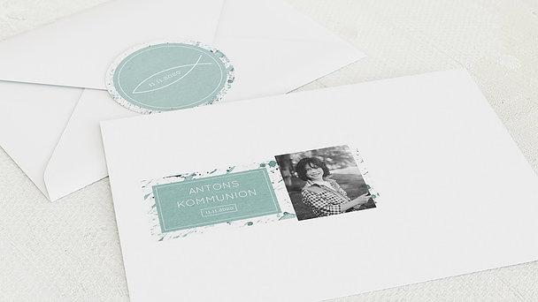 Umschlag mit Design Kommunion - Kommunions-Impression