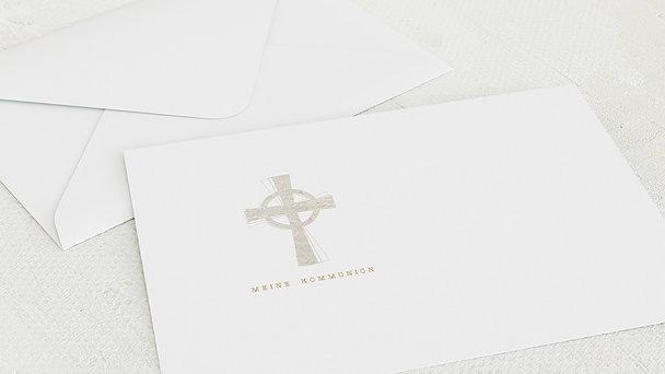 Umschlag mit Design Kommunion - Symbolisch Kommunion