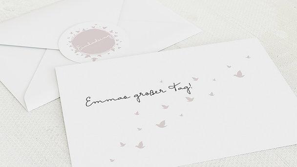 Umschlag mit Design Kommunion - Ein bisschen Frieden