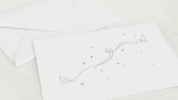 Umschlag mit Design Kommunion - Colomba