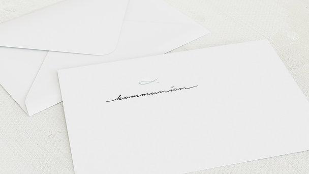 Umschlag mit Design Kommunion - Liebevolle Kommunion