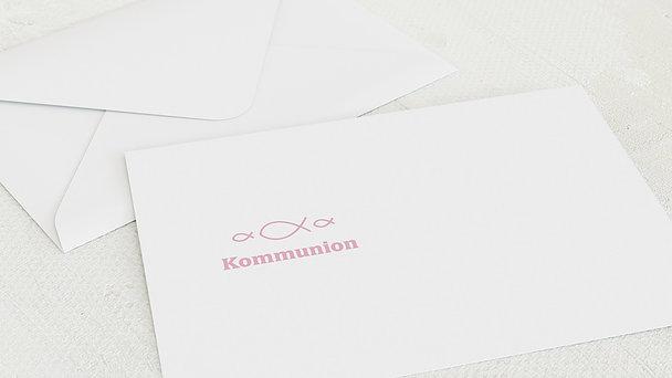 Umschlag mit Design Kommunion - Huldigung