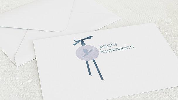 Umschlag mit Design Kommunion - Kraftvoll