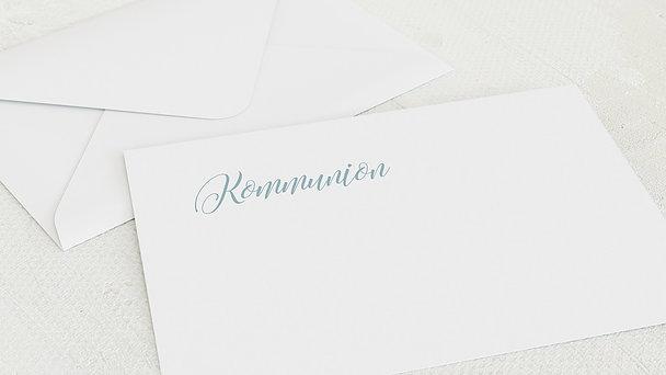 Umschlag mit Design Kommunion - Zauberlicht Kommunion