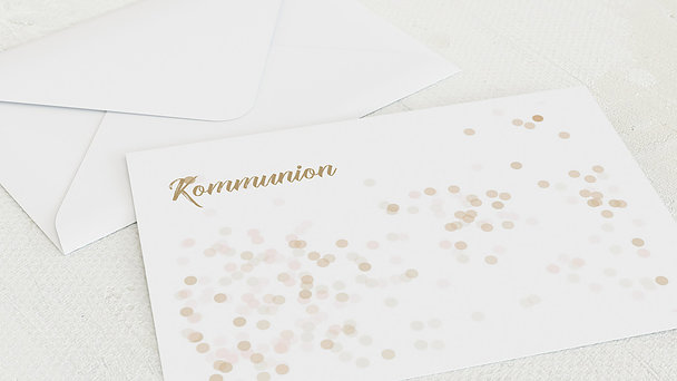 Umschlag mit Design Kommunion - Elfenstaub
