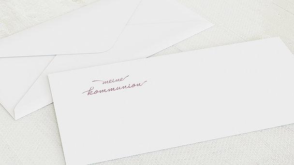 Umschlag mit Design Kommunion - Glanzvolle Kommunion